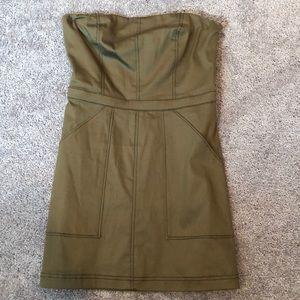 Strapless Dress! 💚